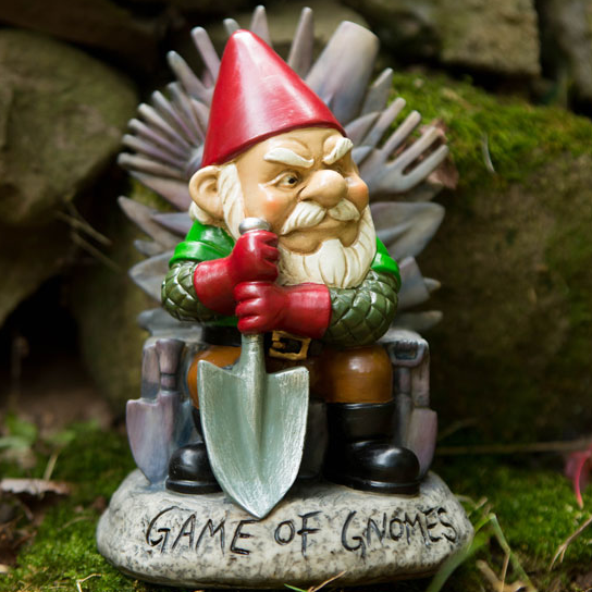 Game of Gnomes Garden Gnome - OddGifts.com
