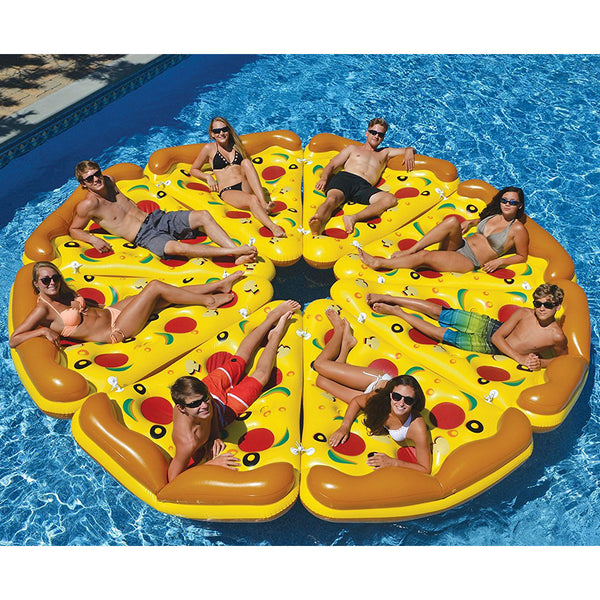 Giant Inflatable Pizza Slices - OddGifts.com