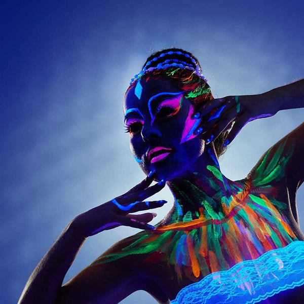 Glow In The Dark Body Paint - OddGifts.com