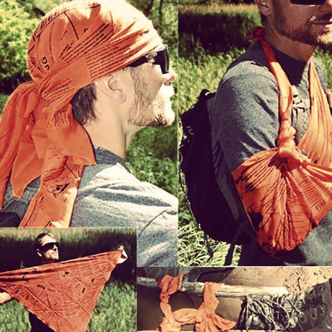 Multipurpose Survival Bandana - OddGifts.com