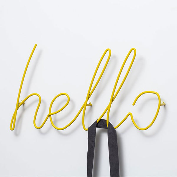 Hello Coat Rack - oddgifts.com