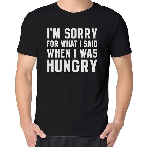 Hungry Apology T-shirt - OddGifts.com