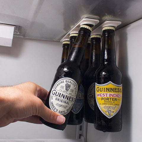 Magnetic Beer Hanger - oddgifts.com