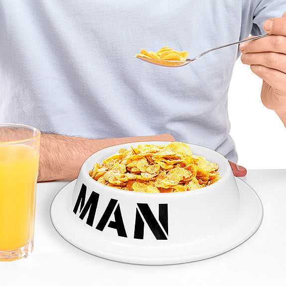 The Man Bowl - OddGifts.com