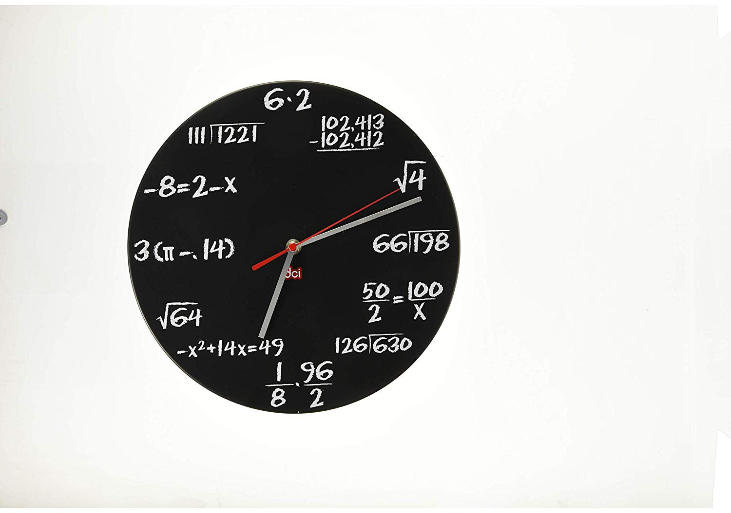 Math Clock - oddgifts.com