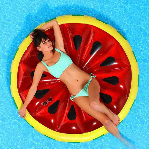 Watermelon Inflatable Raft - OddGifts.com
