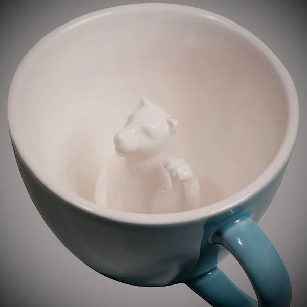 Sneak Attack Bear Mug - OddGifts.com