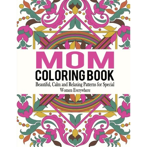 Mom Coloring Book - OddGifts.com