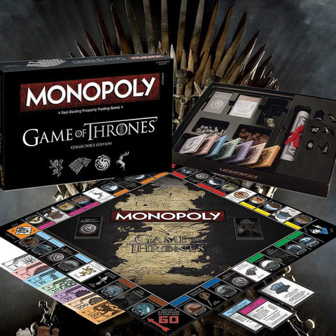 Game Of Thrones Monopoly - OddGifts.com