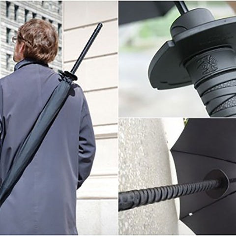 Samurai Umbrella - OddGifts.com