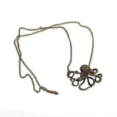 Octopus Necklace - OddGifts.com