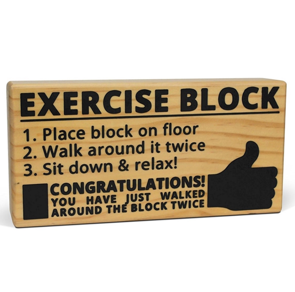 Exercise Block Toy - OddGifts.com
