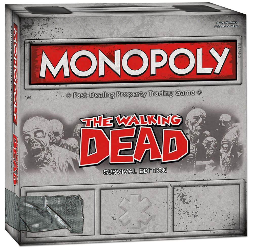 The Walking Dead Monopoly - OddGifts.com