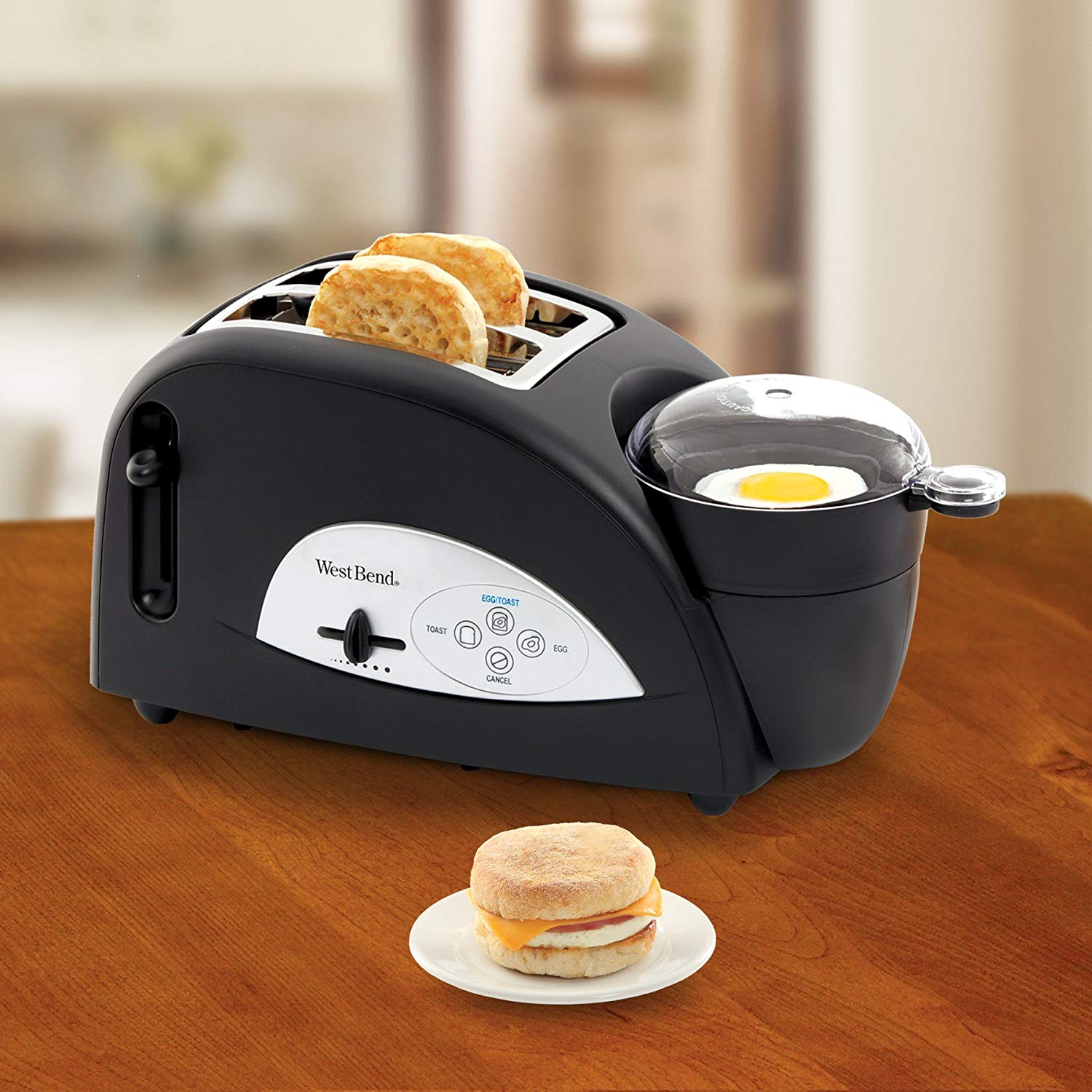 Toaster & Egg Poacher - OddGifts.com