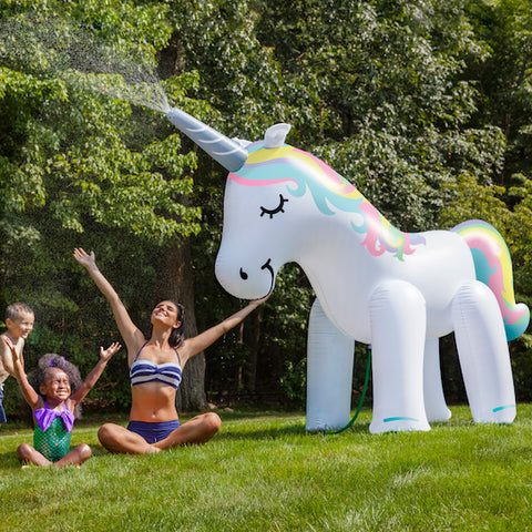 Ginormous Inflatable Unicorn Sprinkler