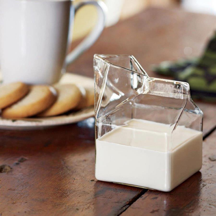Glass Creamer Carton - OddGifts.com