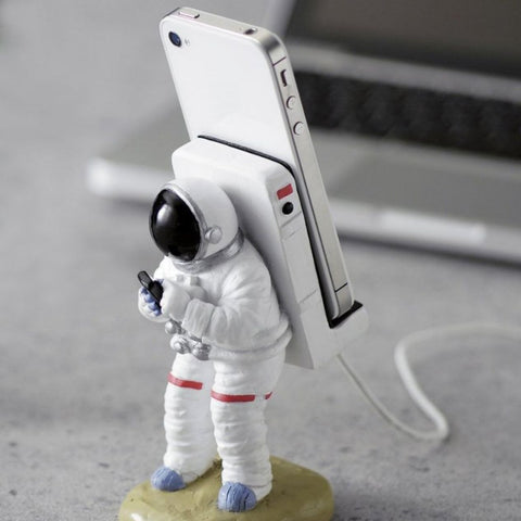 Astronaut Phone Stand - OddGifts.com