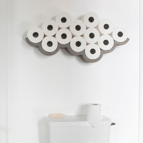 Cloud Toilet Roll Holder