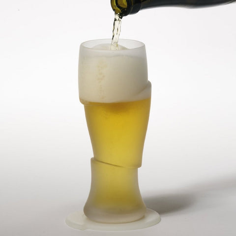 Sliced Beer Glasses - OddGifts.com