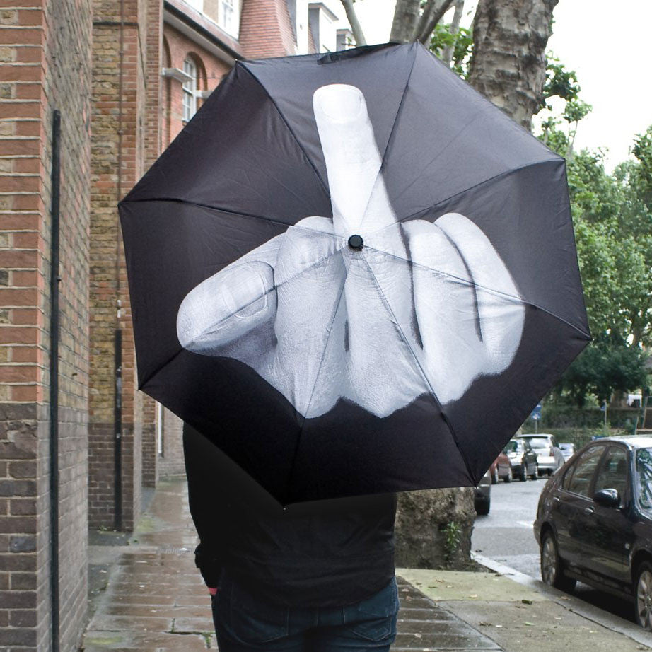 Middle Finger Umbrella - OddGifts.com