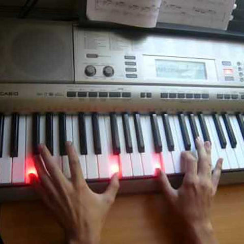Easy Learning Light Up Keyboard - OddGifts.com