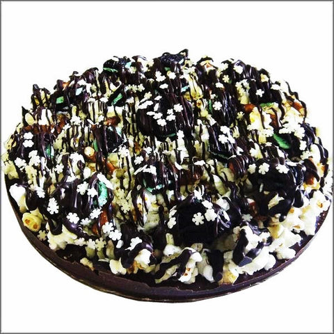 Chocolate Pizza Cake - OddGifts.com