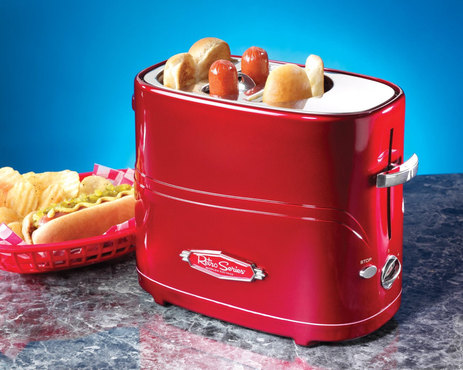 Hot Dog Toaster - OddGifts.com