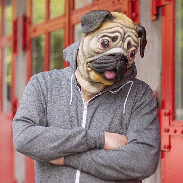 Pug Mask - OddGifts.com