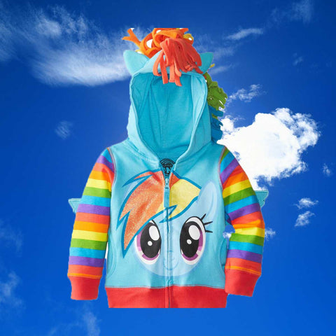 My Little Pony Rainbow Dash Hoodie - OddGifts.com