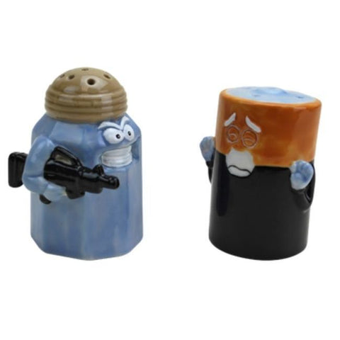 Assault Battery Salt & Pepper Shakers - OddGifts.com