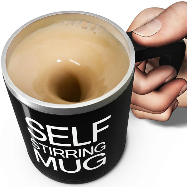 Self Stirring Mug - OddGifts.com