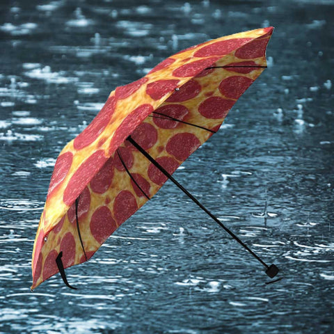 Pepperoni Pizza Umbrella - OddGifts.com