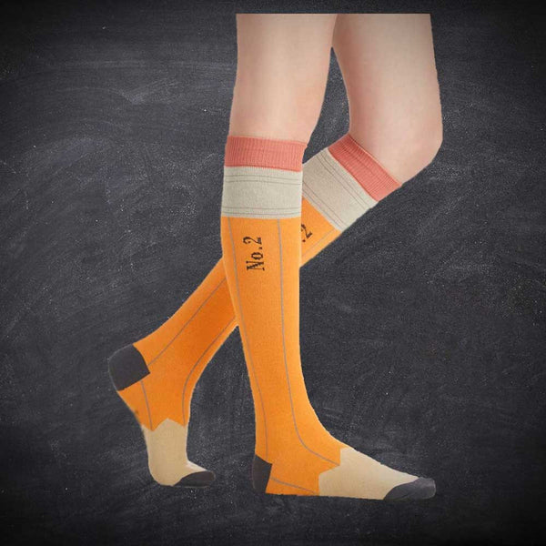 Number 2 Pencil Socks