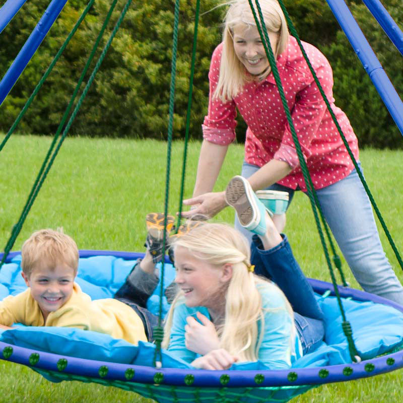 Sky Island Platform Swing for Kids And Adults - oddgifts.com