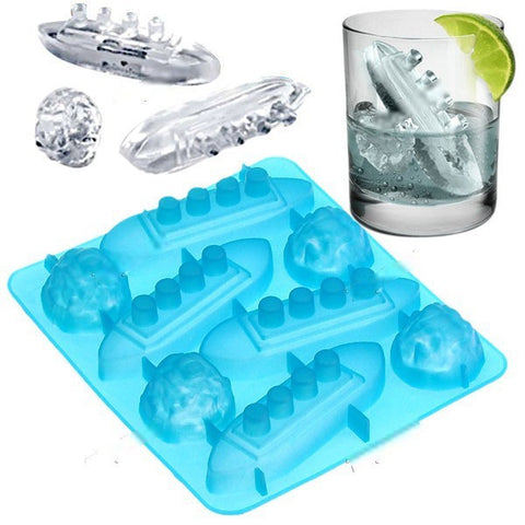 Titanic Ice Cube Trays - OddGifts.com