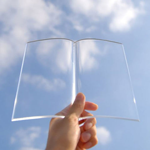 Transparent Book Weight - OddGifts.com
