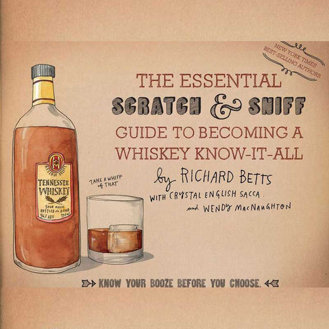 Scratch & Sniff Whisky Mastering Book - OddGifts.com