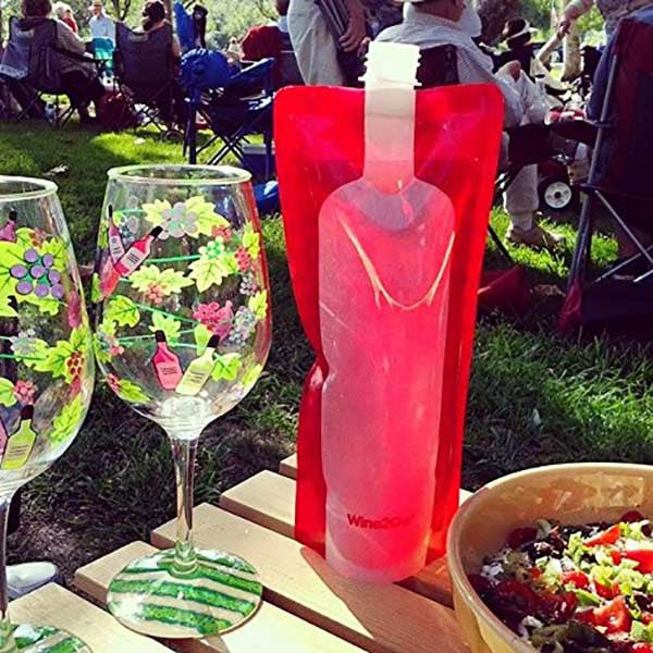 Foldable Wine Bottle - OddGifts.com