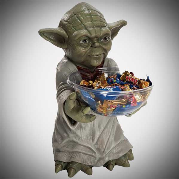 Yoda Candy Bowl Holder - OddGifts.com