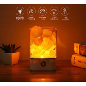 Himalaya zout LED lamp
