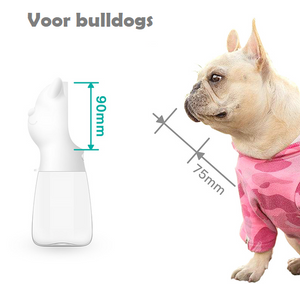 Draagbare Honden Drinkfles ( Bottly+ )