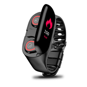 2 in 1 Smartwatch met bluetooth oordopjes