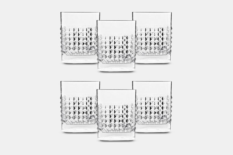 Luigi Bormioli Elixer Whiskey Glasses (Set of 6)