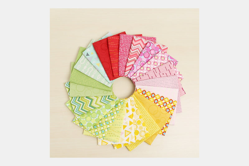 L's Modern Basics Fat Quarter Bundle by Lecien