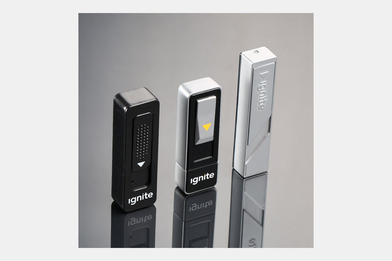 Ignite Slim USB Rechargeable Lighters