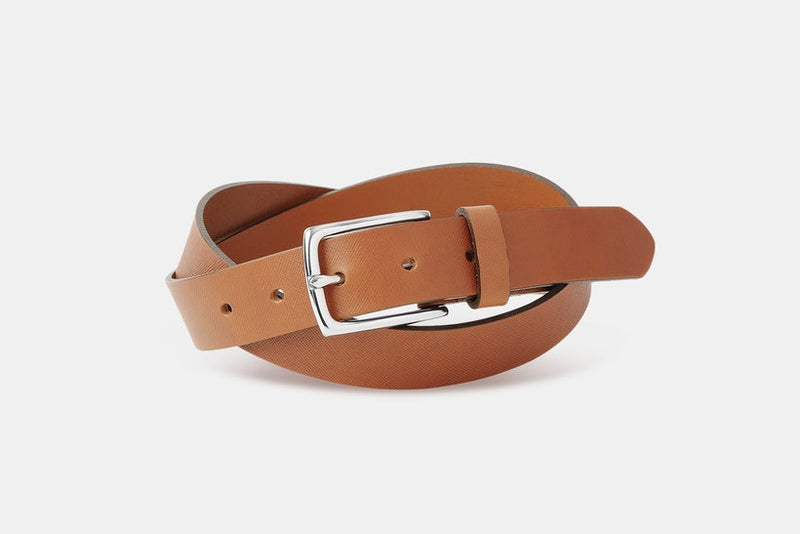 Massdrop x The British Belt Co. Siena Saffiano Belt