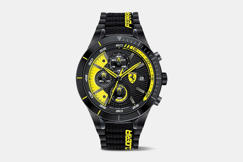 Ferrari Scuderia Red Rev Chronograph Quartz Watch