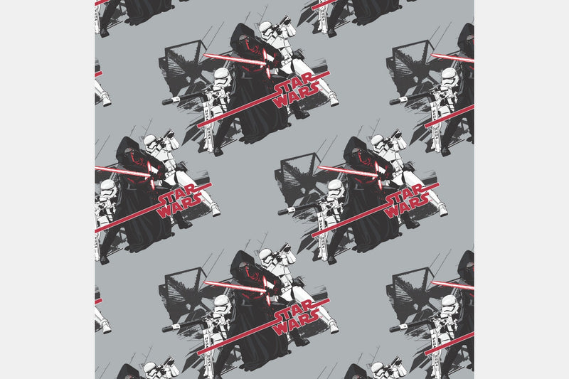 Kylo Ren - Gray / 2 Yards