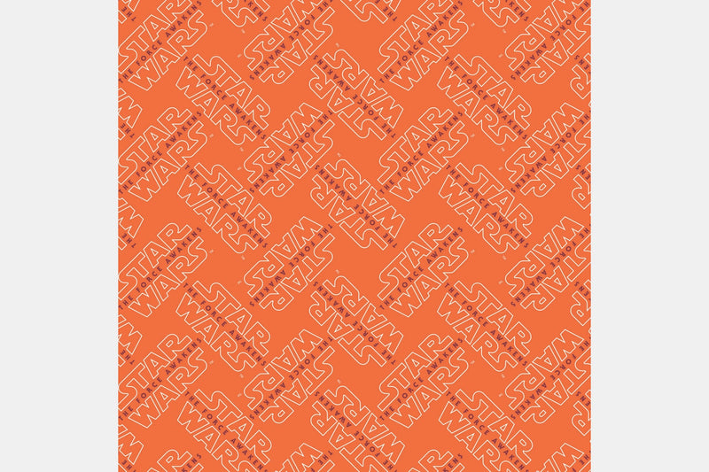 Logo - Orange / 2 Yards