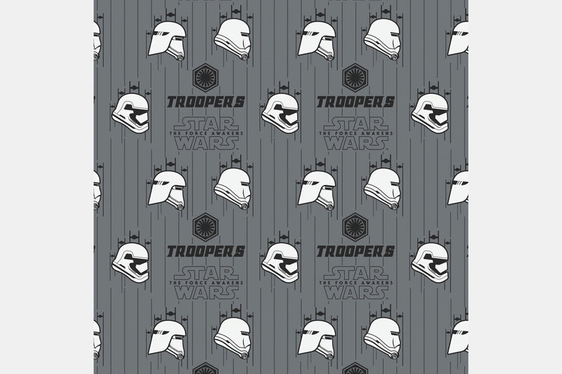 Troopers - Gray / 2 Yards